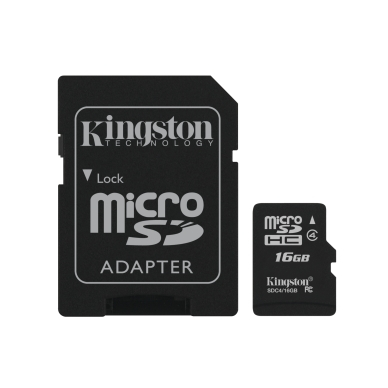 KINGSTON Kingston Micro SD 16 GB