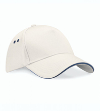 Ultimate 5 Panel Cap Putty/French Navy