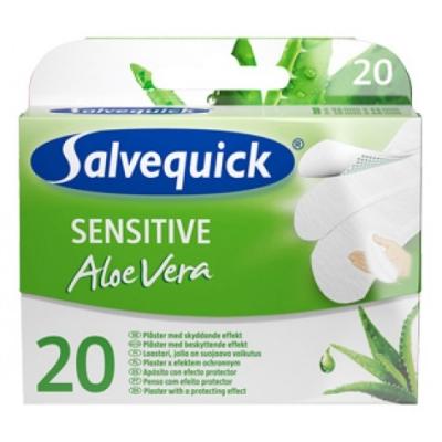 Salvequick Pflaster Sensitiv Aloe Vera 20 stk