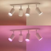 Philips Hue Spotlight Fugato White and Color 4x5,7W Vit
