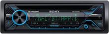 MEX-GS820BT - Car - CD receiver - in-dash unit - Full-DIN - Bilradio - Svart