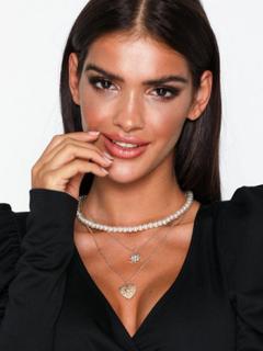 NLY Accessories Vintage Layered Necklaces Halskæder