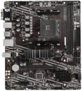 A520M PRO LGA 1200 DDR4 2xM.2 MB Bundkort - socket -