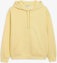 Soft drawstring hoodie - Yellow