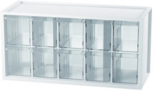 Infinity Hearts Förvaringshylla/Hylla med lådor 510 Plast 10 lådor 37,