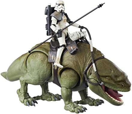 Star Wars Dewback og Sandtrooper figur - Star Wars The Black Series figurer E0333 - Eurotoys