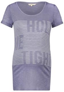 Noppies T-Shirt Aukje Medium Grey - grå - Gr.Graviditetstøj