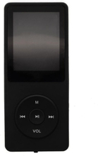 Mp3-spelare Med 8gb Minne - Svart Svart