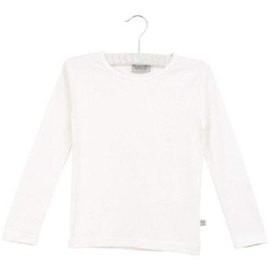 Wheat Basic Boys Shirt white - hvid - Dreng - pinkorblue