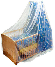 Alvi myggenet til seng (94405) - hvid