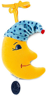 Sterntaler Spilledåse, lille måne - gul