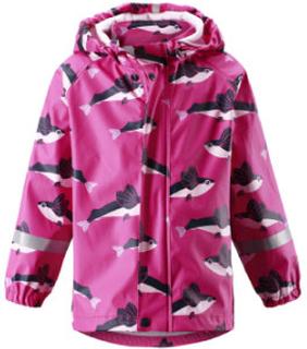 reima Regnjakke Vesi pink - rosa/pink - Gr.92 - Pige