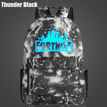 Fortnite rygsæk pose skoletaske (Model 6)