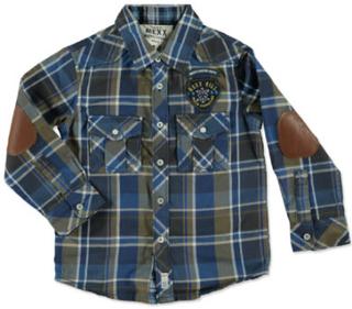 Mexx Drenge mini-skjorte, robot - flerfarvet - Gr.XL - Dreng