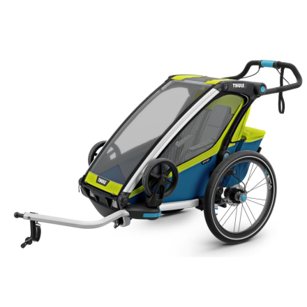 Thule Chariot Sport1 (2018) Cykel- & Barnvagn Gul OneSize