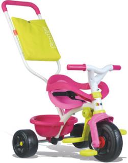 Smoby Be Fun Komfort Trehjulet Cykel rosa - rosa/pink