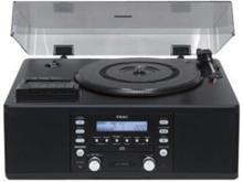 LP-R500 - audio system Pladespiller - Sort