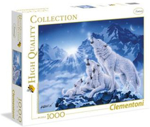 1000 pcs. High Color Collection FAMILY OF WOLVES