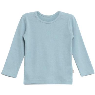 WHEAT Basic Boys Shirt ashleyl blue - blå - Gr.fra 5 år - Dreng - pinkorblue
