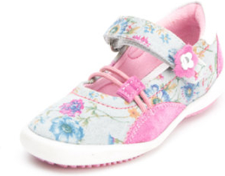 s.Oliver -SHOES Girls Sandal Sand Flower - rosa/pink - Pige