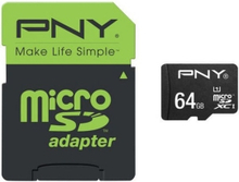 Minne PNY MicroSD High Performance 64GB