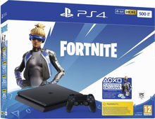Sony PlayStation 4 Slim 500GB inkl. Fortnite Bundle