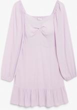 Sweetheart neckline dress - Purple