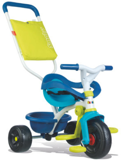 Smoby Be Fun Komfort Trehjulet Cykel blå