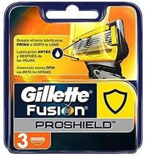 Gillette Fusion Proshield Chill Barberblade - 3 Stk.