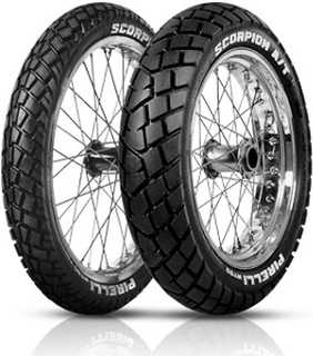 Pirelli SCORPION MT90 A/T ( 90/90-19 TT 52P M/C, Framhjul )