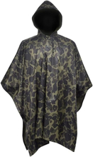 vidaXL Regnponcho i kamouflage