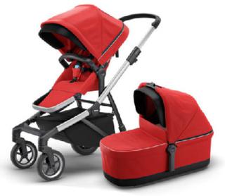 Thule Kombivogn Sleek Energy Red - rød