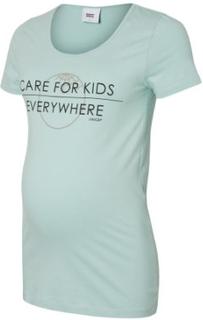 Mama Licious T-shirt MLUNICEF blue haze - blå - Gr.S