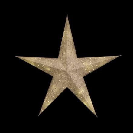 Tivoli Mulberry LED Lysstjerne, 50 cm, Batteri, Tivoli motiv