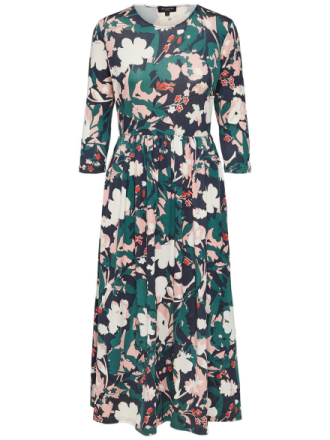 SELECTED Floral Printed - Maxi Dress Women Green