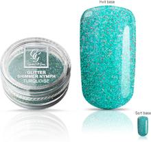 Glitter Shimmer Nymph Turkis