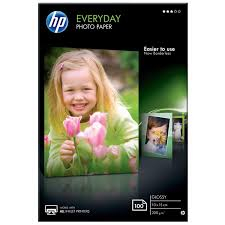 HP everyday glansigt fotopapper 100st 10x15 200gsm