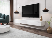 e-Com - Floating TV Unit Cabinet Stand SIERRA