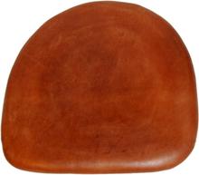 4 st Tolixa stolsdyna läder - Brun