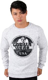 Gorilla Wear Men Bloomington Crewneck Sweatshirt, mixed gray, xxxlarge Sweatshirt herr