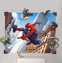 Spider-Man Spindelmannen 3D Pop Out Väggdekor Wall Decoration Sticker