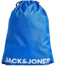 JACK & JONES Robust Logotypförsedd Träningsanpassad Väska Man Blå