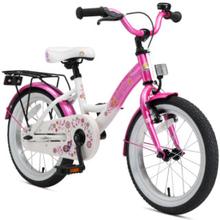 BIKESTAR® Premium Lasten polkupyörä 16'', pinkki-valkoinen - roosa/pinkki