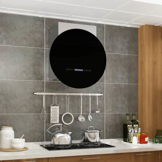 vidaXL vægmonteret emhætte LCD-display touchsensor 756 m³/t. LED