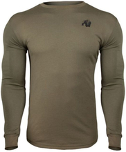 Gorilla Wear Williams Longsleeve Army Green - Treningsgenser