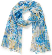 Schal aus 100% Seide Laura Biagiotti ROMA blau