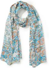 Sjaal Van Peter Hahn turquoise