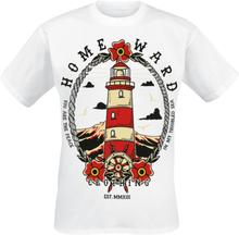 Homeward Clothing - Lighthouse2 -T-skjorte - hvit