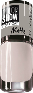 Maybelline, Color Show Nail Polish, 81 Matte About It 7ml