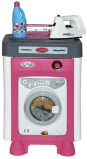 Wader Vaskemaskine Carmenmed tilbehør (Elektro) - rosa/pink